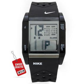 Reloj Nike Negro Repelente Al Agua Para Caballero Deportivo