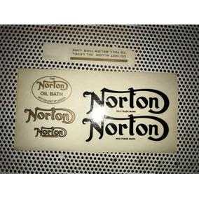 Norton Calcos Viejo Stock Ploteado