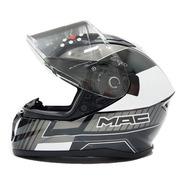 Casco Moto Integral Mac Speed Dash Gloss Solomototeam