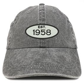 Tienda De La Ropa De Moda Establecido 1958 Bordado 60a Regal