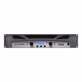 Amplificador Potência Crown Xti 4002 3200w Rms Dsp T O P