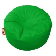 Sillon Puff Circular Mediano Verde Soporta Hasta 85kg