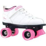 Patines Velocidad Bala Para Mujer Chicago Skates Blanco