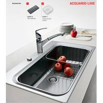 Franke Bacha Cocina Acquario Line Aex 610 Acero Inoxidable