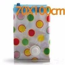 Space Bag. Comprime Tu Ropa Y Organizala 70 X 100 Cm. Bolsa