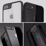 Capa Bumper Iphone 7 Transparente Preta