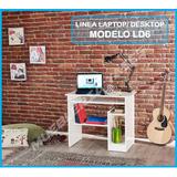 Mesa Para Computadora O Laptop Niveles Moderna Modelo Ld6