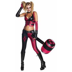 Disfraz Harley Quinn Arkham City Halloween Suicide Sq Batman