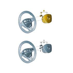 Unidade Airbag Para Volante Preto Titan