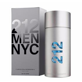 Perfume 212 Men Nyc Carolina Herrera 100ml Ate 12x S/ Juros