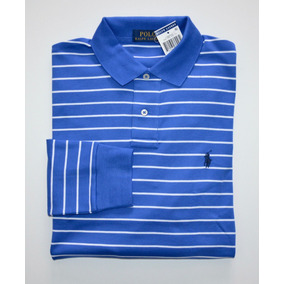 Camisa Polo Ralph Lauren Tamanho Gg Xl Manga Comprida Longa 3c79460677b