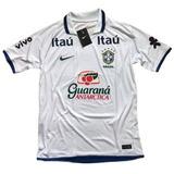 Camisa Brasil Polo Seleção Brasileira Treino Guaraná Copa