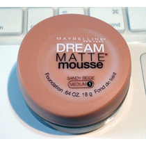Base Dream Matte Mousse Maybelline Somente Cor Sandy Beige