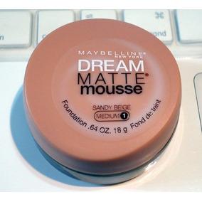 Base Dream Matte Mousse Maybelline Somente Cor Sandy Beige