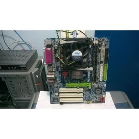 Kit Placa Mãe Ga-8vm800m+ P4 3.0ghz+2gb Ddr1