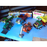 Lote X 5 Camiones Saxo Lata Chapa Ind Arg Juguete Antiguo