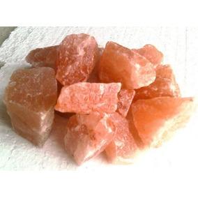 Sal Rosada En Piedra Partida, Por 20 Kg, Lamparas De Sal