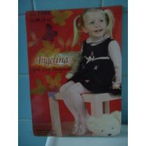 Mallas Caladas Para Niña Delgadas Blanca Talla 1 Año Lbf