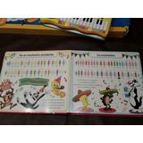 Aprende A Tocar El Piano / 2 Tomos Con Los Looney Tunes