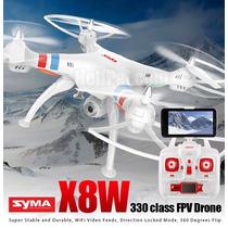 Drone X8w Câmera Wifi Fpv 50cm Syma Fpv 100 Metros Altura
