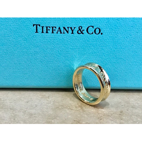 Anillo Tiffany 1837 Bellisimo Oro 18 Kilates Talla 5.5