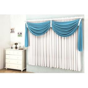 Cortinas azul turquesa cortinas no mercado livre brasil for Cortinas azul turquesa