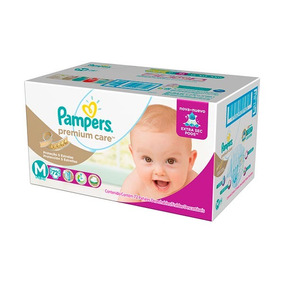 Fraldas Pampers Premium Care M - Hiper