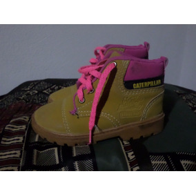 Boot Catterpillar Infantil Feminino Amarelo/rosa