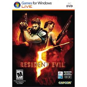 Resident Evil 5 Pc - 100% Original (steam Key)