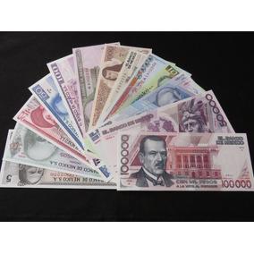 Billetes Hermanos Coleccion 13 Cuarta Emision 5 A 100,000