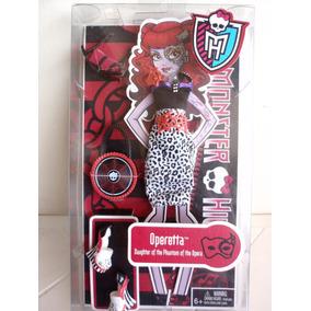 Set De Ropa Monster High Operetta Nuevo