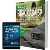 Apostila Prefeitura Piracicaba - Professor Ed. Infantil 2017