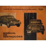 Manual Dkw = Passageiros E Camioneta