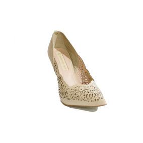 Sapato Salto Alto Elegante Jorge Bischoff Creme