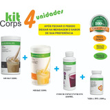 Kitcorps Herbalife 2 Shakes + Fiber Concentrate + Nrg 100g