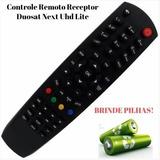 Controle Remoto Next Uhd Lite Tvduosat Via Embratel.