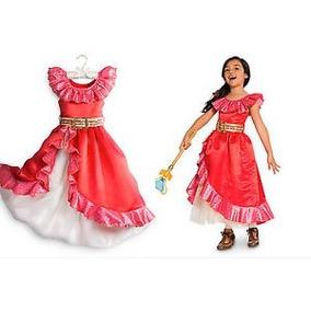 Vestido Disfraz Princesa Elena D Avalor Talla 2,3,4 Envio Gr