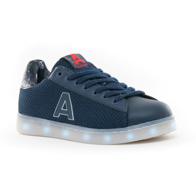 Zapatillas Led Usb Geometric Azul Addnice