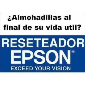 Reset Desbloquea Almohadillas Epson Todas Las Series