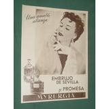 Publicidad Perfume Embrujo De Sevilla Y Promesa Myrurgia