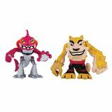 Tartarugas Ninja Dogpound E Fishface Half-shell Heroes