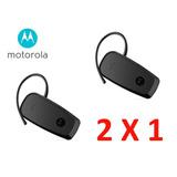 2 X 1 Manos Libres Motorola Hk115 Bluetooth Negro