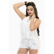 Shorts Jeans Feminino Destroyed Hot Estilo Anitta Promoção