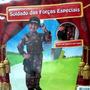 Fantasia Soldado Das Forças Especiais - Red Circus