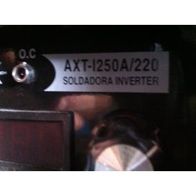 Soldadora Inverter Axt-1250a/220