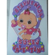 Cartel Para La Puerta De La Clinica Nacimientos