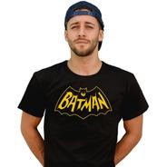 Remera Logo  Batman Del 66 Adam West