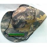 Sombrero Camuflado Completo Camping Sol Lluvia Deporte Pesca