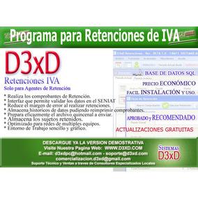 Sistemas D3xd - Retenciones De Iva E Islr