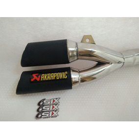 Escape Akrapovic Pipa Doble